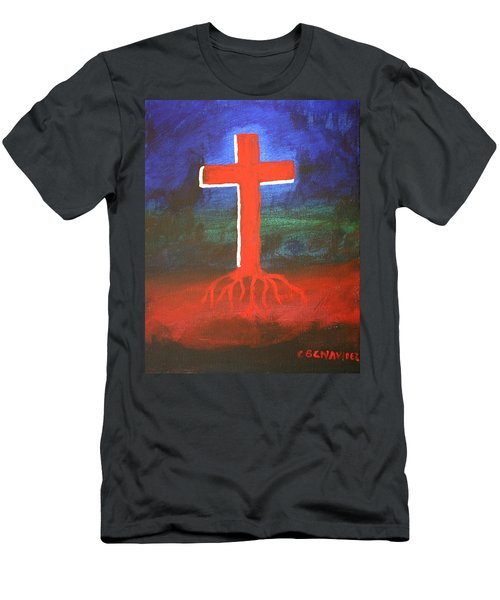 Rooted Men's T-Shirt (Athletic Fit)
