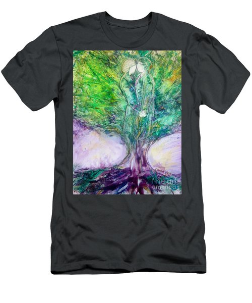 Rooted In Love Men's T-Shirt (Athletic Fit)