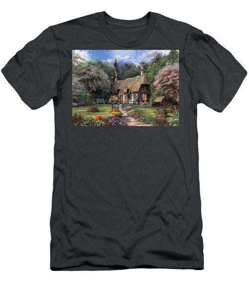 Rose Cottage Men's T-Shirt (Athletic Fit)