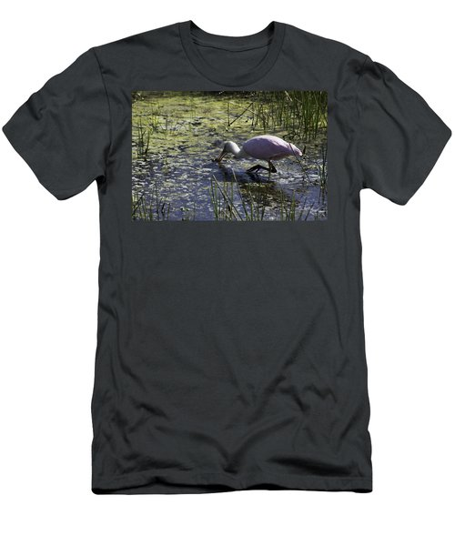Roseate Spoonbill Ix Men's T-Shirt (Athletic Fit)