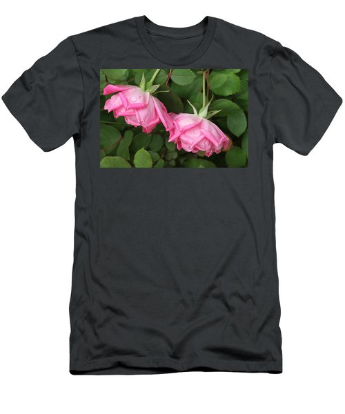 Roses After The Shower Men's T-Shirt (Athletic Fit)