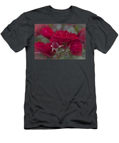 Roses And Roses Men's T-Shirt (Slim Fit) by Maj Seda