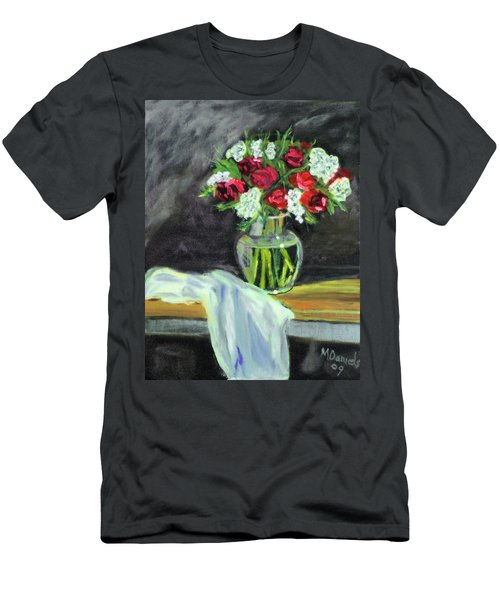 Roses For Mother's Day Men's T-Shirt (Athletic Fit)