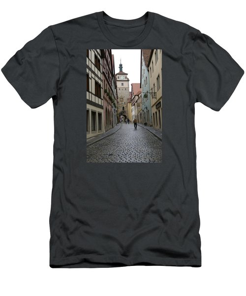 Men's T-Shirt (Slim Fit) featuring the photograph Rothenburg Ob Der Tauber by Heidi Poulin