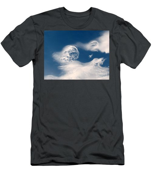 Round Clouds Men's T-Shirt (Athletic Fit)