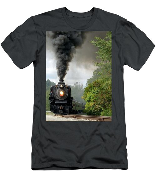 Steamin' In The Valley Men's T-Shirt (Athletic Fit)