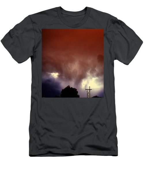 Rounds 2 3 Late Night Nebraska Storms Men's T-Shirt (Athletic Fit)