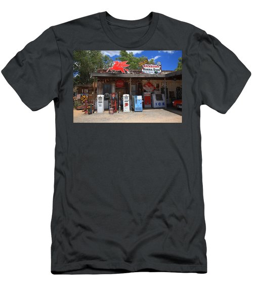 Route 66 - Hackberry General Store Men's T-Shirt (Athletic Fit)