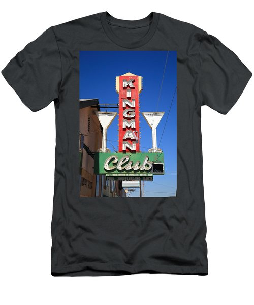Route 66 - Kingman Club Men's T-Shirt (Athletic Fit)