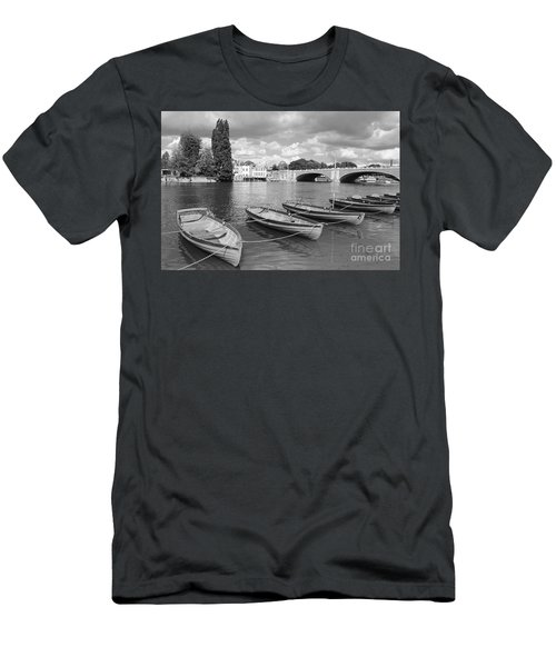 Rowing Boats Men's T-Shirt (Athletic Fit)