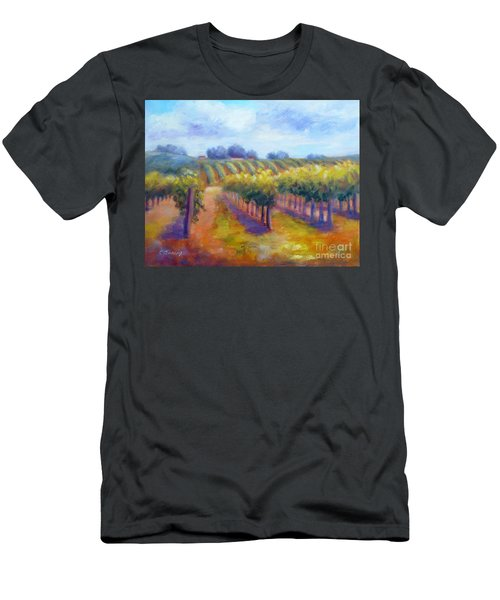 Rows Of Vines Men's T-Shirt (Athletic Fit)