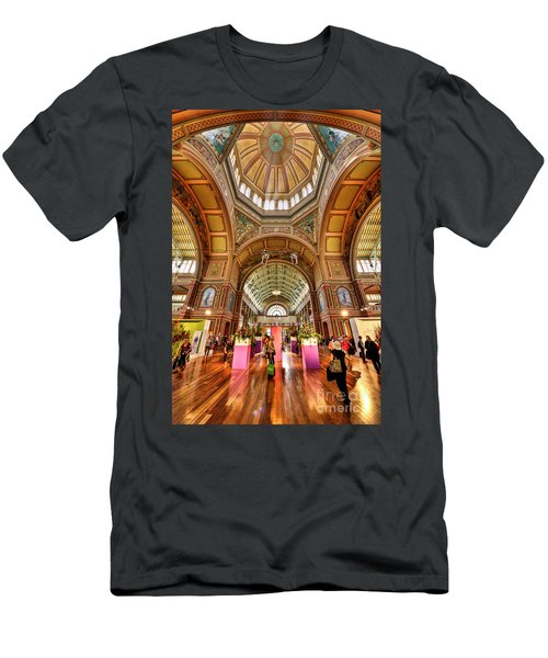 Royal Exhibition Building II Men's T-Shirt (Athletic Fit)