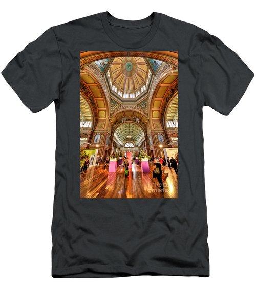 Royal Exhibition Building II Men's T-Shirt (Athletic Fit)