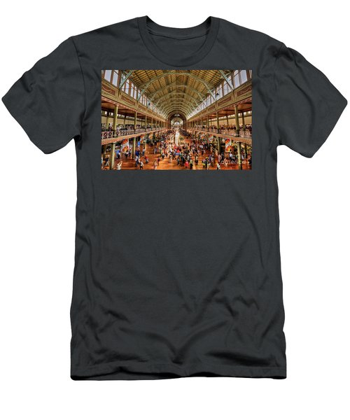 Royal Exhibition Building IIi Men's T-Shirt (Athletic Fit)