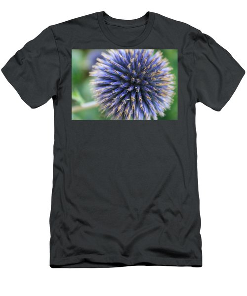 Royal Purple Scottish Thistle Men's T-Shirt (Athletic Fit)