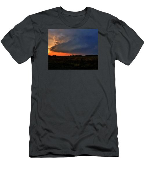 Men's T-Shirt (Slim Fit) featuring the photograph Rozel Tornado by Ed Sweeney