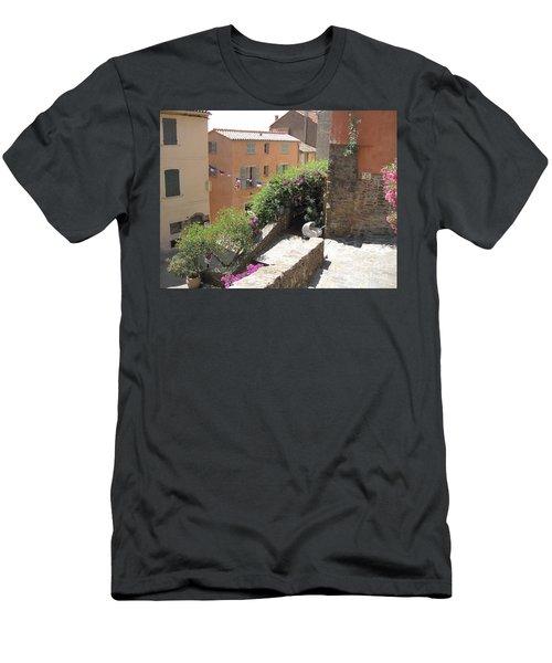 Rue De La Rose Men's T-Shirt (Athletic Fit)