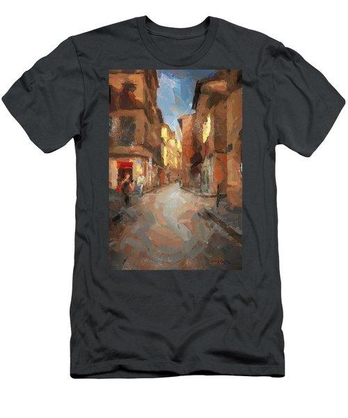 Rue Du Doyenne Men's T-Shirt (Athletic Fit)