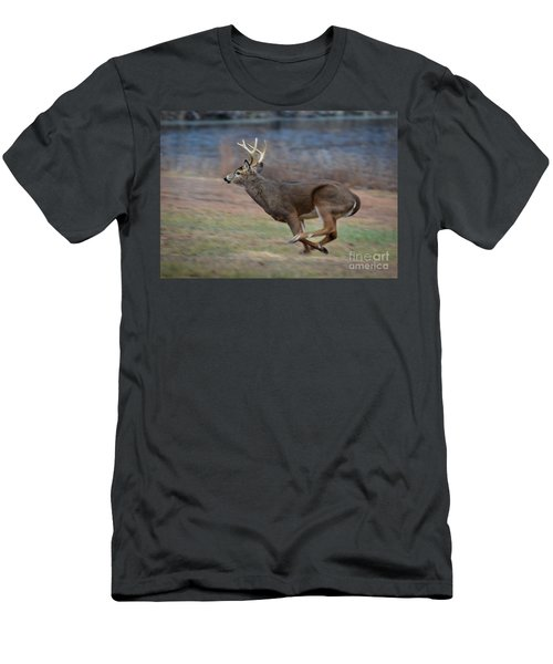 Running Buck Men's T-Shirt (Athletic Fit)