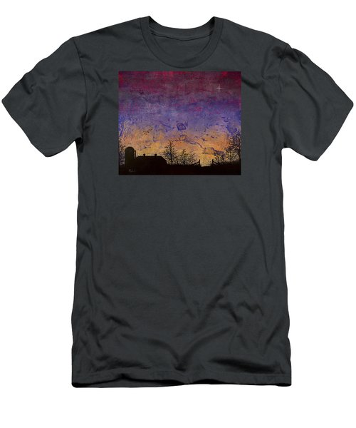 Rural Sunset Men's T-Shirt (Athletic Fit)