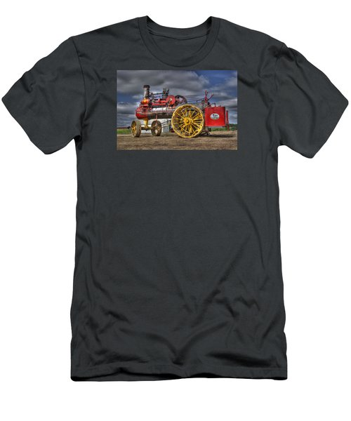 Russell Steam Men's T-Shirt (Slim Fit) by Shelly Gunderson