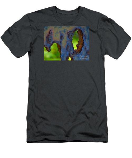 Rust In Peace Men's T-Shirt (Slim Fit) by Joy Hardee