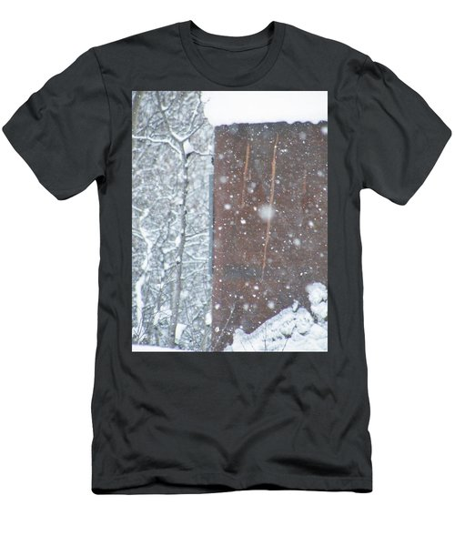 Rust Not Sleeping In The Snow Men's T-Shirt (Athletic Fit)