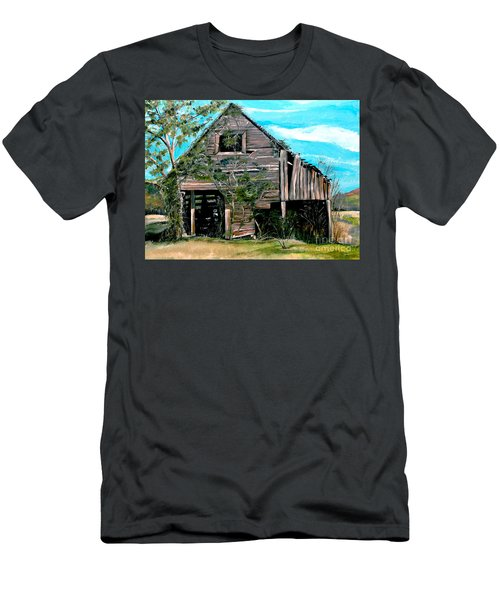Rustic Barn - Mooresburg - Tennessee Men's T-Shirt (Athletic Fit)