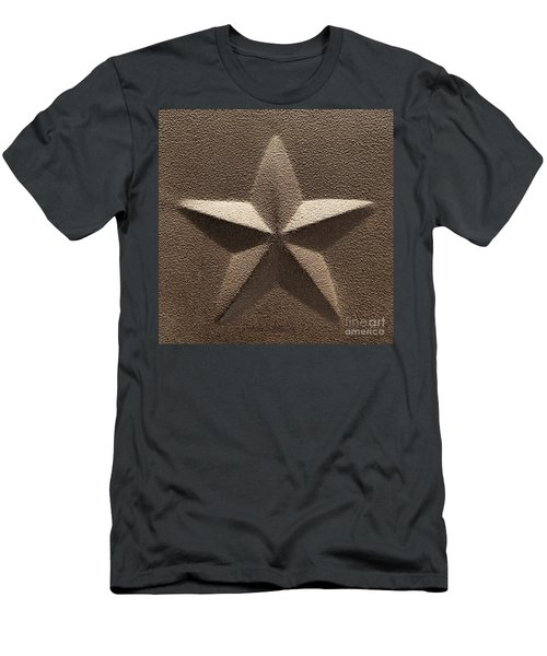 Rustic Five Point Star Men's T-Shirt (Athletic Fit)