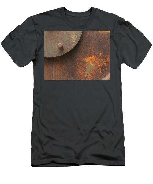 Rusty Abstraction Men's T-Shirt (Athletic Fit)