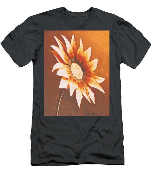 Rusty Gazania Men's T-Shirt (Athletic Fit)