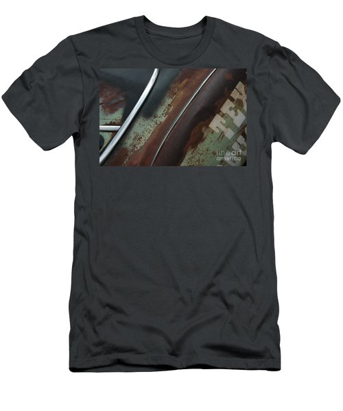 Men's T-Shirt (Slim Fit) featuring the photograph Rusty Rat by Christiane Hellner-OBrien