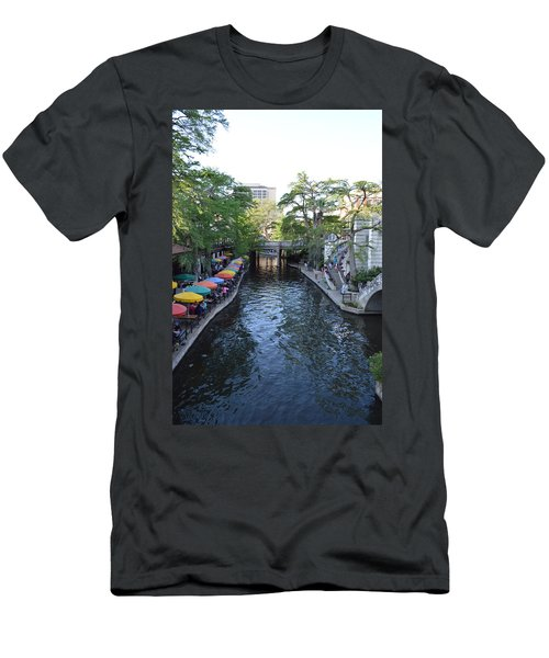 Sa River Walk 2  Men's T-Shirt (Athletic Fit)