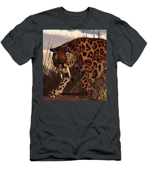 Sabertooth Men's T-Shirt (Athletic Fit)