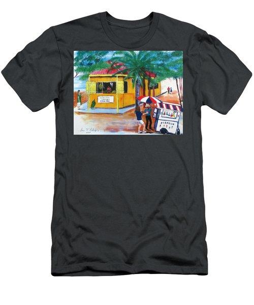 Sabor A Puerto Rico Men's T-Shirt (Athletic Fit)