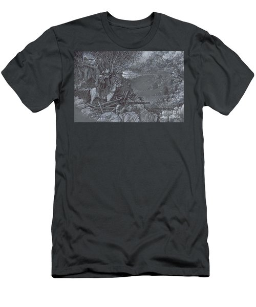Saddle Sniper Men's T-Shirt (Athletic Fit)