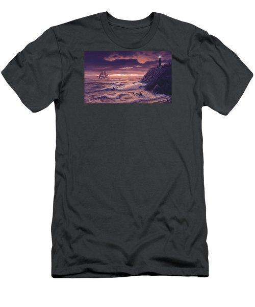 Safe Passage Men's T-Shirt (Athletic Fit)