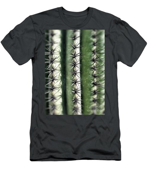 Saguaro Catus Needles Men's T-Shirt (Athletic Fit)