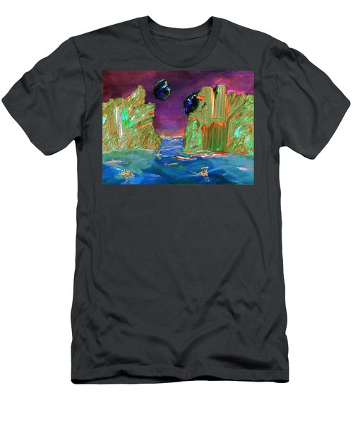 Sailing On Beta Antares 3 Men's T-Shirt (Athletic Fit)