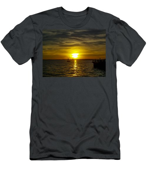 Sailing The Sunset Men's T-Shirt (Athletic Fit)