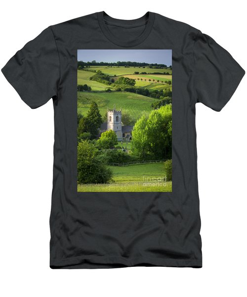 Men's T-Shirt (Athletic Fit) featuring the photograph Saint Andrews - Cotswolds by Brian Jannsen