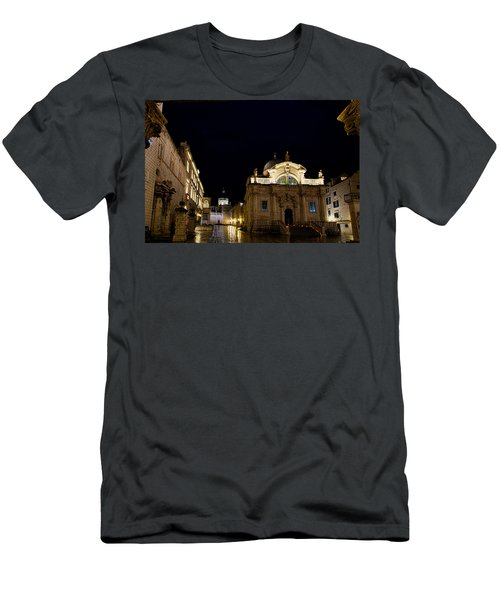 Saint Blaise Church - Dubrovnik Men's T-Shirt (Athletic Fit)