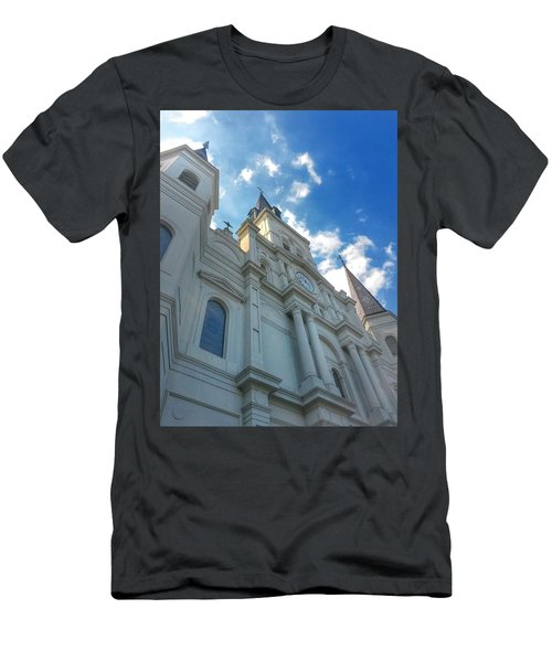 Saint Louis Cathedral  Men's T-Shirt (Athletic Fit)