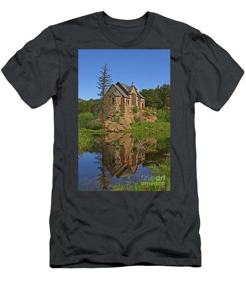 Saint Malo Reflection Men's T-Shirt (Athletic Fit)
