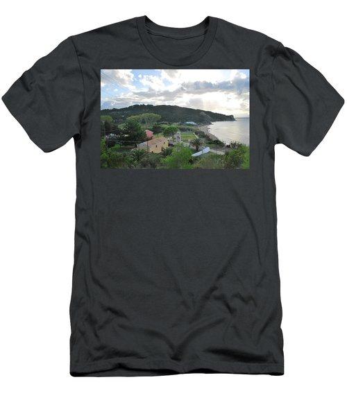 Men's T-Shirt (Slim Fit) featuring the photograph Saint Nicholas 1822 by George Katechis
