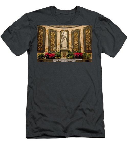 Saint Vincent Depaul Chapel Men's T-Shirt (Athletic Fit)