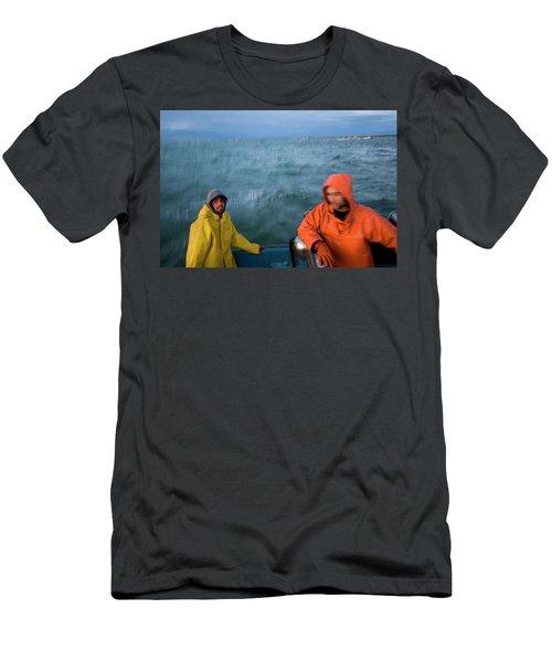 Salmon Fisherman, Bristol Bay, Alaska Men's T-Shirt (Athletic Fit)