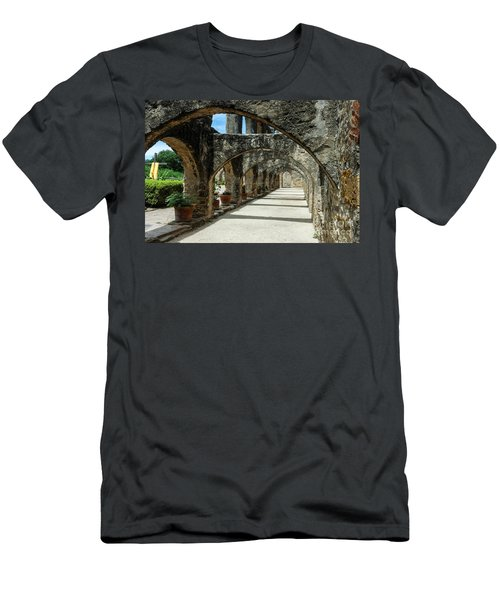 San Antonio Mission Arches Men's T-Shirt (Athletic Fit)