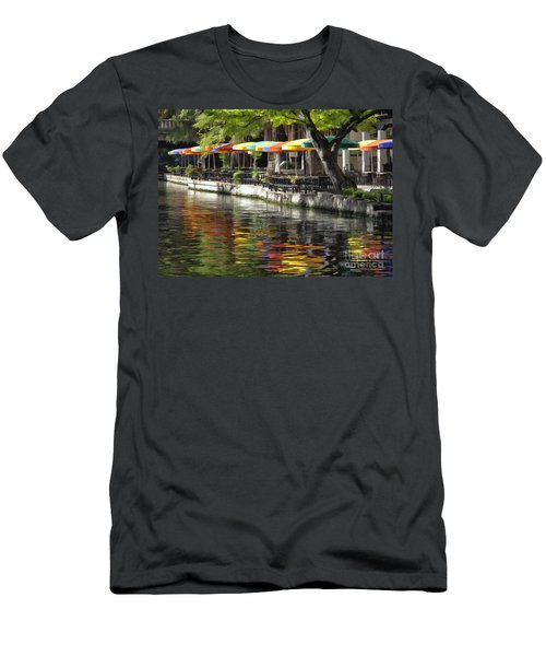 San Antonio River Walk Men's T-Shirt (Athletic Fit)