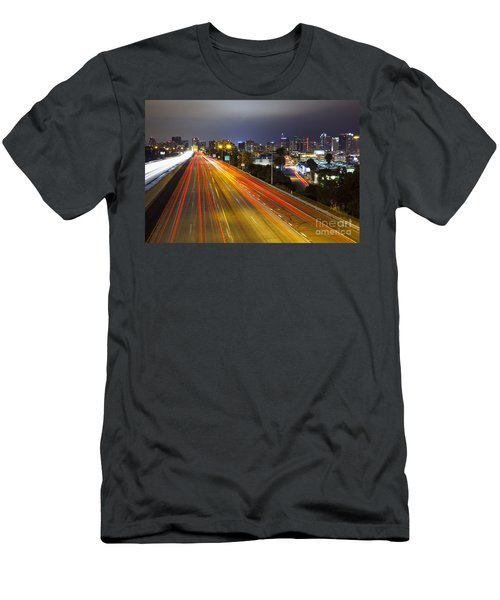 San Diego Skyline Men's T-Shirt (Athletic Fit)